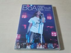 BoA DVD「FIRST LIVE TOUR 2003〜VALENTI〜」●