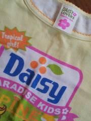 デイジーラバーズ袖裾紐リボン半袖Tシャツ110