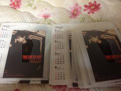 Gackt/THE  SIXTH〜ミニカレンダー即決