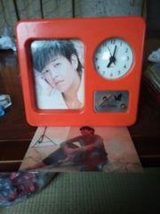 リュ・シウォンの置き時計