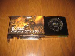 ���W�����N�i�� ZOTAC GeForce GTX 260 �O���t�B�b�N�{�[�h