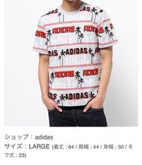 adidas総柄今期シャツアディダスオリジナル
