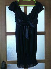 CECIL McBEE(セシルマクビー)☆ミニ丈ワンピース/ブラック