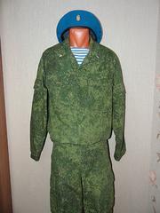 ロシア軍 デジタル迷彩服
