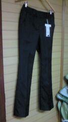 新品ベルメゾン暮らす服ウエストすべり止め付きスーツパンツ定価4990円