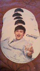 2PM COWAY 非売品コースター  NichKun 一枚