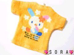 【ウサハナ】可愛い♪ミニチュアキャラクターTシャツ