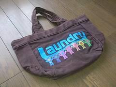 ★Laundry製*手提げバッグ/ミニトートバッグランドリー