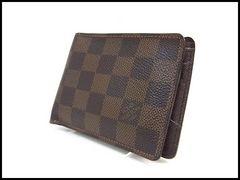 ルイヴィトン ダミエ ミュルティプル 二つ折 財布 札入れ N60895