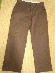 ディッキーズ ブラウンパンツ 34×30