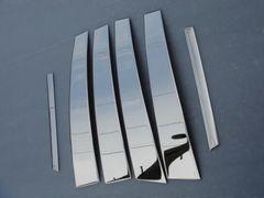 トヨタ 鏡面ステンレスピラー セルシオ30系31系3D成型