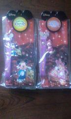 ディズニーミッキーマウス ミニーマウス携帯ストラップ(京都)