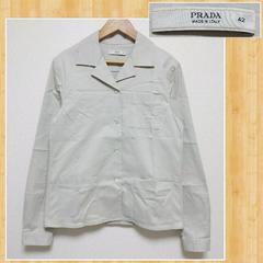PRADA プラダ レディース ジャケット 42 カバーオール ジャパン正規品 超美品