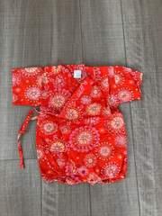 女の子ベビチビ浴衣甚平夏祭り70