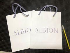 アルビオンショップ袋2枚セット