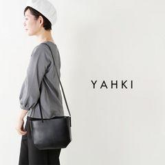 YAHKI/ヤーキ スクエアショルダーバッグ ブラック
