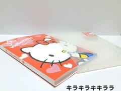 キティちゃん写真管理に★薄型ケース付*フォトアルバム72枚収納