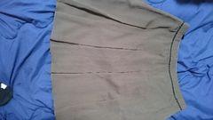 ペイトンプレイス 膝丈スカート  茶色