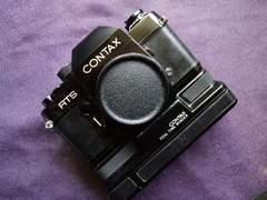 Contax初代RTSワインダー&データーバック