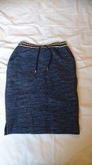 スカート青 サイズF
