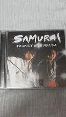 タッキー&翼「SAMURAI」限定生産盤(CD+DVD)正規品中古