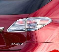 レクサス メッキテールライトリング RX350/RX450h 09/1〜