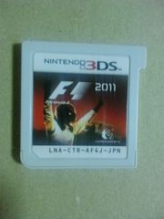 †送料無料3DS専用ちょいレア即決 F1-2011