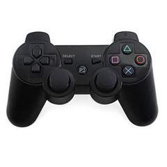 PS3 ワイヤレスコントローラー Bluetooth ブラック Black a