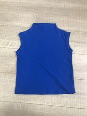 韓国子供服THEGREY9美品ノースリーブトップス綺麗なブルー110〜