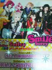 Smileberryフライヤー4枚◆2015〜16年即決
