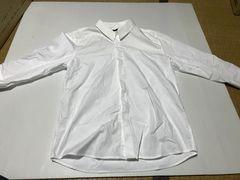 白シャツ☆ホワイト☆七分袖☆L