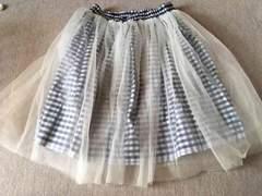 WEGO購入*リバーシブル/レース付きスカート*F、2回着用
