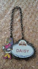ディズニーシー TDS ネームタグ ネームプレート ハロウィ-ンデイドリーム 30周年 デイジー