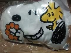 新品未開封☆スヌーピー2013顔型クッション☆ミスタードーナツ