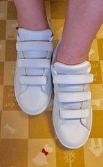 adidas/スタンスミス・ベルクロ・ホワイト  23.5  新品同様