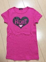◆ 超美品 ◆ RONI ◆ ピンク Tシャツ ロニィ 半袖 M