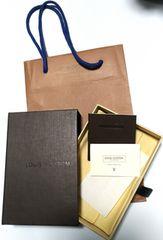 ルイヴィトンLOUIS  VUITTONキーケース専用箱&ショップバッグ紙袋付属品付美品