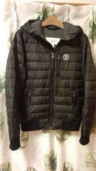 本物保証 Abercrombie&Fitch 希少 メンズSサイズ 黒色 中綿ジャケット
