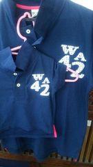 親子セット パパとお揃い 半袖ポロシャツ 2点セット サイズ90 スキップランド 美品