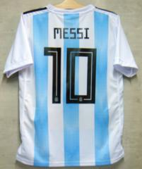 新品☆メッシ☆アルゼンチン代表☆白水色L10番半袖N☆バルセロナ