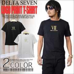 メール便送料無料【DELTA】Tシャツ70677新品黒金L