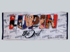 ☆【ルパン三世】LUPIN the 3rd・フェイスタオル