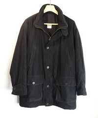 size50 ロエベ LOEWE 内綿入りコート ブラック