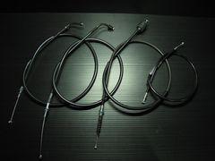 SR400(01〜07) ブラックワイヤーSET+5cmロング新品!国産品