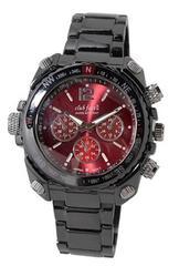 【最後1点/送料無料】club faceblack メンズメタル腕時計CF-1060