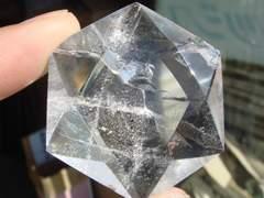 ヘキサグラム[六芒星]天然水晶 G17