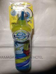 アメリカ購入スポンジボブサーフィンlnsulated straw cup新品
