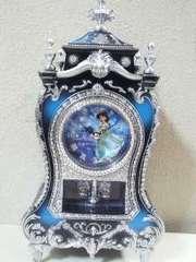 Disney/アラジン☆ジャスミンキャッスルクロックL☆置時計