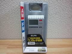 ELPA デジタルチューナーラジオ ER‐N34PR