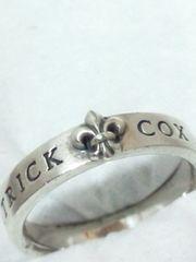 パトリックコックス【PATRICK COX】925シルバー<ユリの紋章/ロゴ>リング 19号